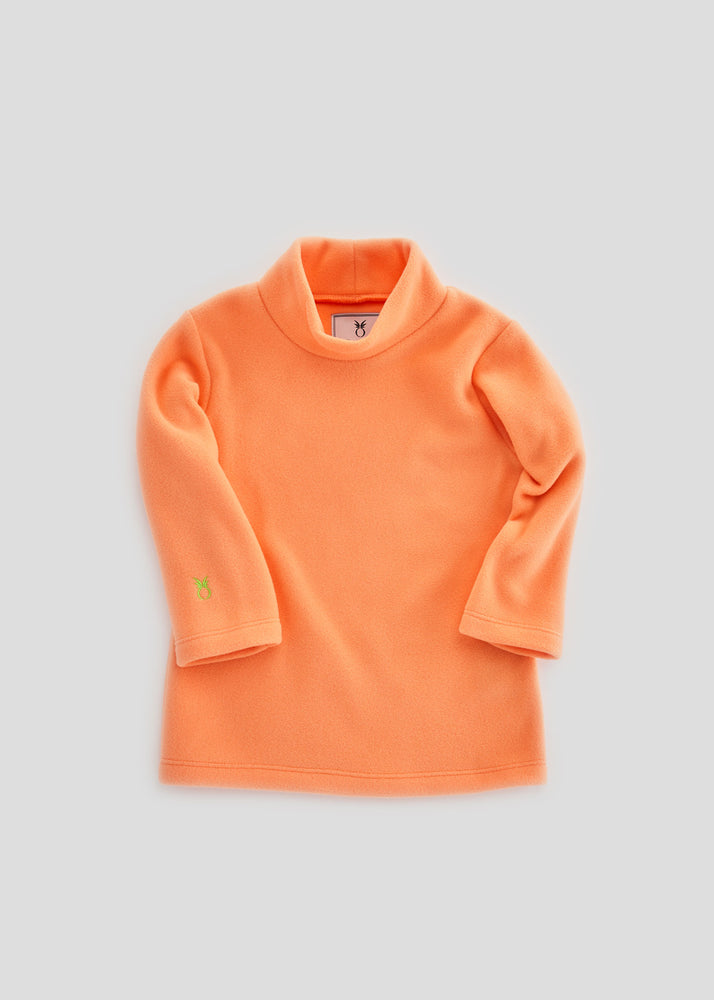 Load image into Gallery viewer, Toddler Turtleneck (Sherbet)