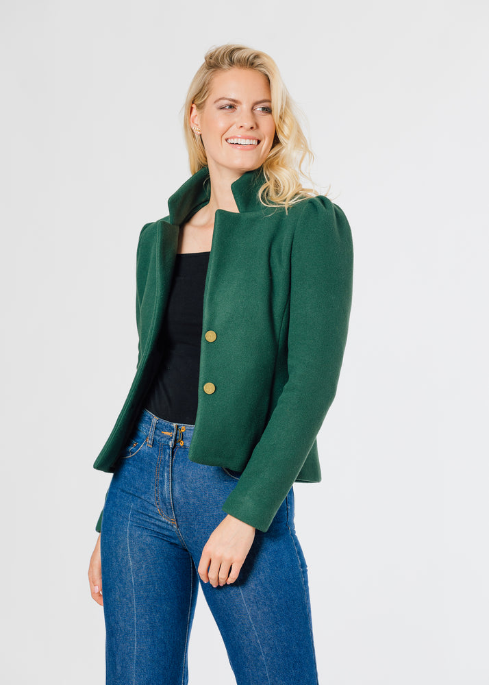 Windsor Blazer (Hunter Green)
