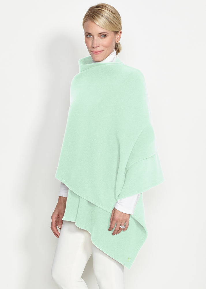 Bedford Blanket Scarf (Mint Green)