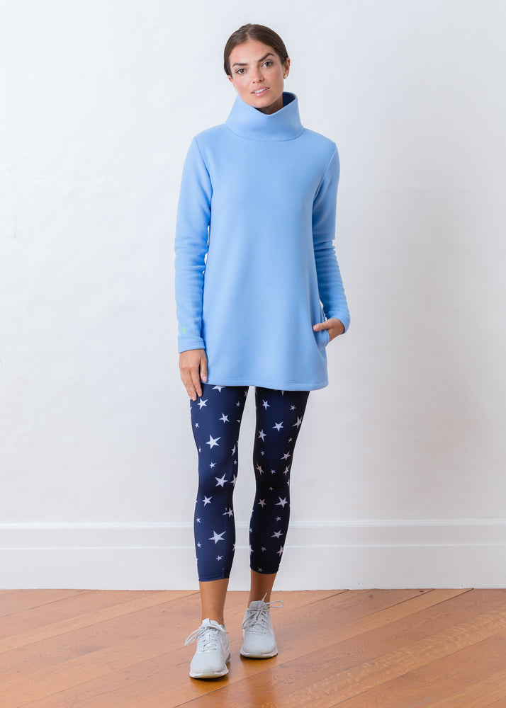 Cobble Hill Turtleneck (Periwinkle)