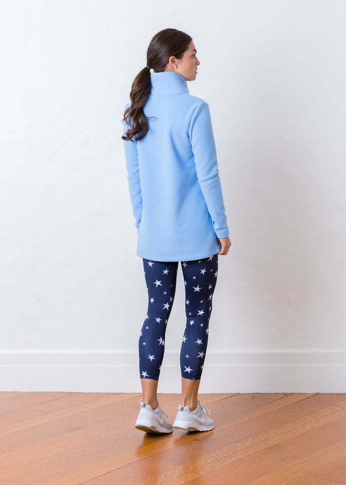Load image into Gallery viewer, Cobble Hill Turtleneck (Periwinkle)