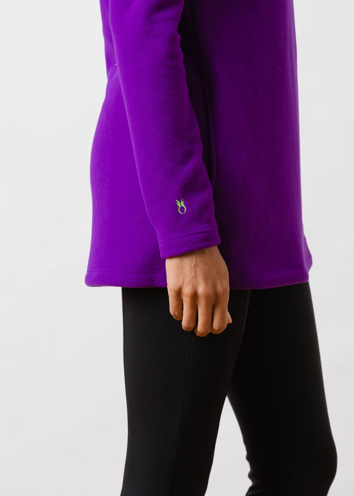 Load image into Gallery viewer, Cobble Hill Turtleneck (Purple)