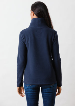Greenpoint Turtleneck in Vello Fleece (Navy)