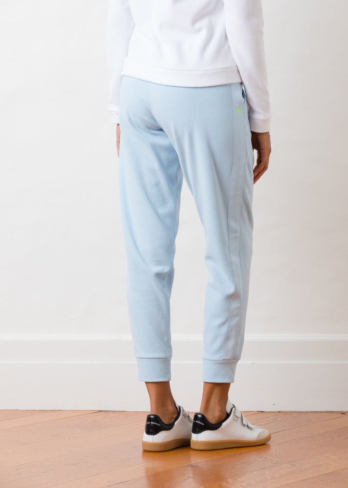 Jay Joggers in Terry Fleece (Ice Blue)