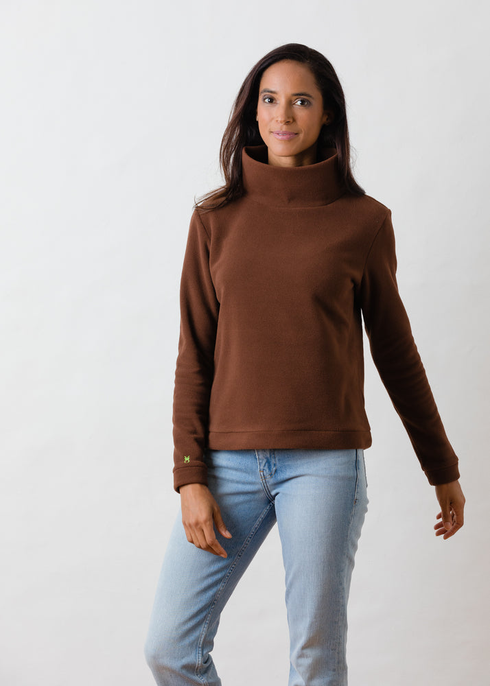 Park Slope Turtleneck (Cocoa)