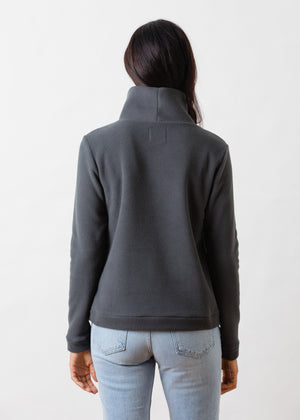 Load image into Gallery viewer, Park Slope Turtleneck (Steel Grey)