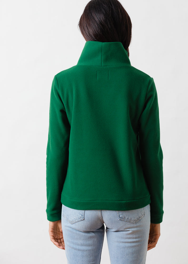 Park Slope Turtleneck (Emerald Green)