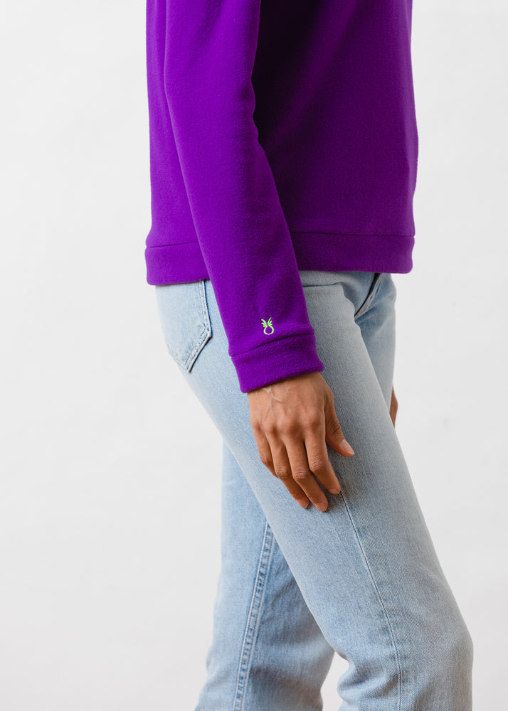 Park Slope Turtleneck (Purple)