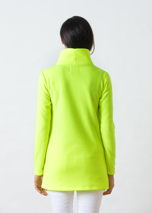 Cobble Hill Turtleneck (Neon Yellow)
