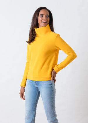 Park Slope Turtleneck (Marigold)