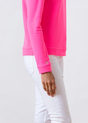 Park Slope Turtleneck (Neon Pink)