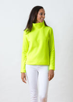 Park Slope Turtleneck (Neon Yellow)