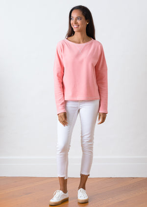 Load image into Gallery viewer, Somerset Sweatshirt in Terry Fleece (Island Coral)
