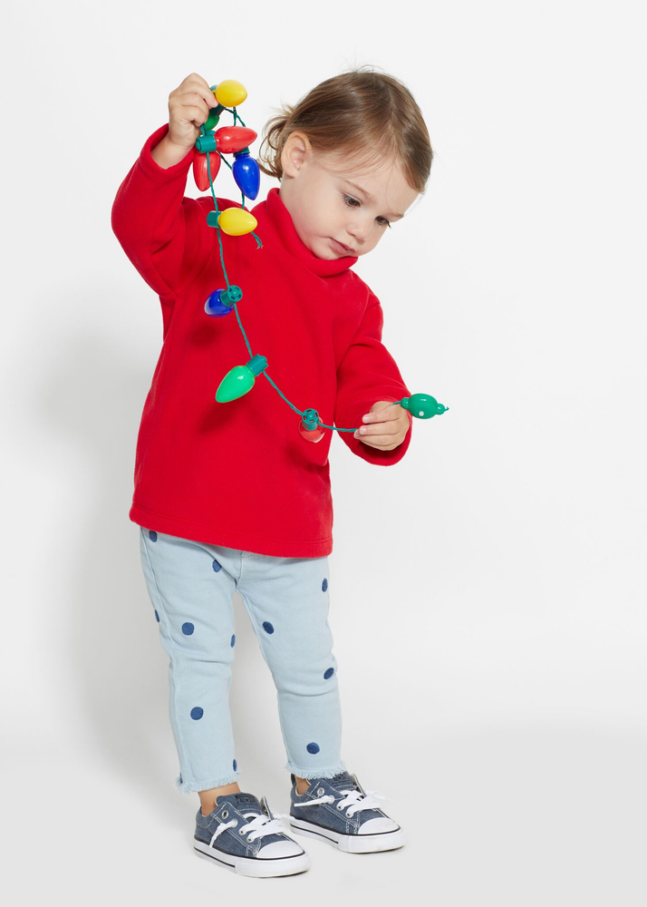 Toddler Turtleneck (Red)