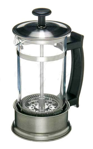 Chrome Finished Tea Press