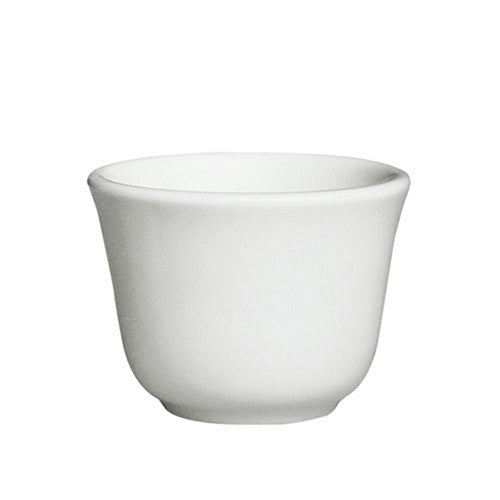 White Sipping Cup