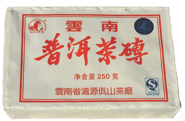 Wa Mountain 250g Brick - 2014 Shou Pu-erh