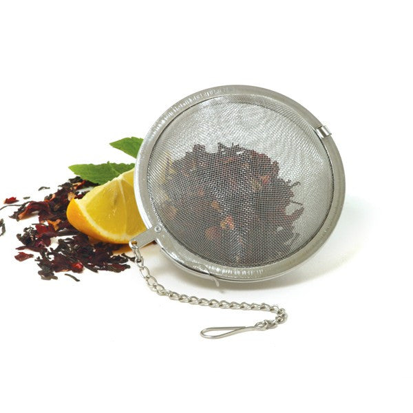 3 inch mesh tea ball on chain