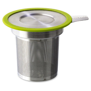 For Life Tea Infuser Basket with lime rim