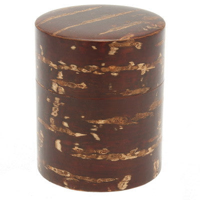 Cherry wood Tea Canister