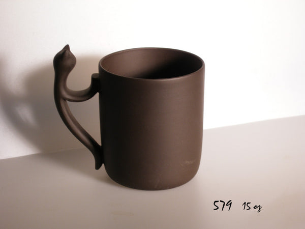 Cat Walk Mug - Yixing Clay - 15 oz