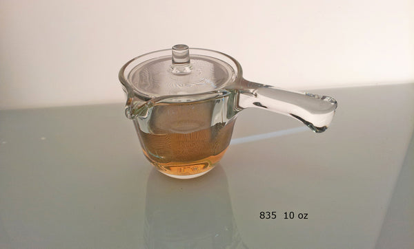 Glass Kyusu Tea Pot - 10oz