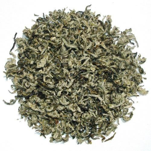 Bi Lo Chun Chinese Green tea - Rolled green tea leaves with white tips