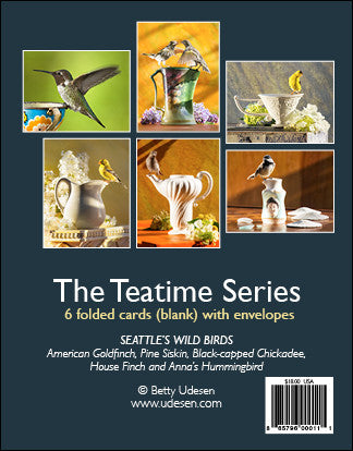 Teatime Series - Blank Greeting Cards