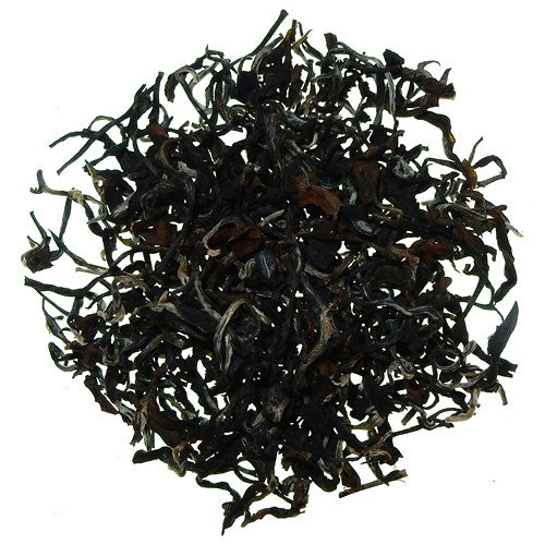 Premium Oriental Beauty Taiwanese Oolong large, black and white rolled leaves