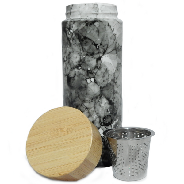 Less than Zero Ceramic Tumbler