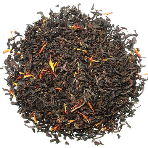 Earl Grey Red Flower, English Black tea blend with bright orange and red flowers