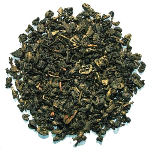 Gunpowder - loosely spiraled Chinese Green Tea