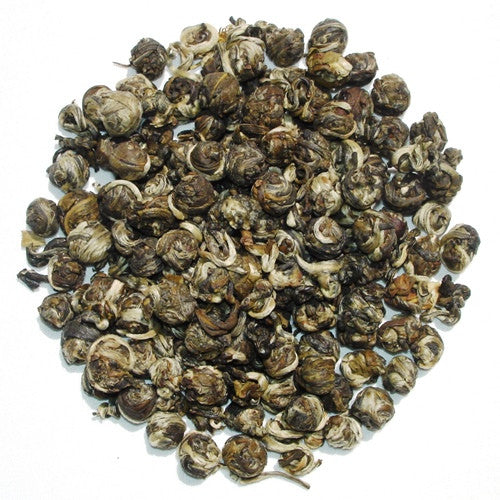 Jasmine Pearl - Tight spirals of Chinese Green tea