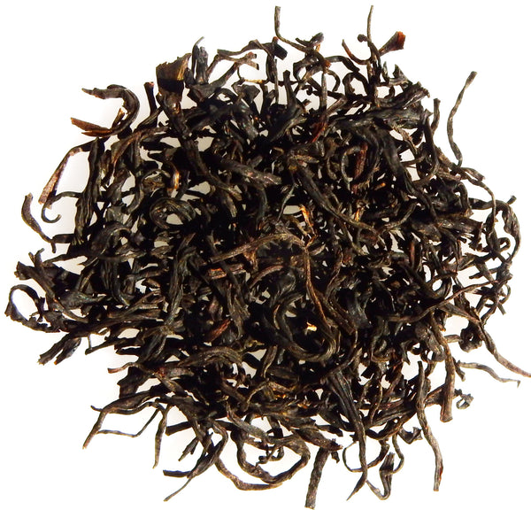 Large leafed Chinese black tea
