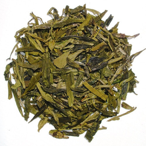 Long Jin Dragonwell - Organic flat, long leaf Chinese Green Tea