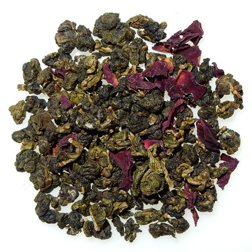 Rose Oolong scented Taiwanese tea