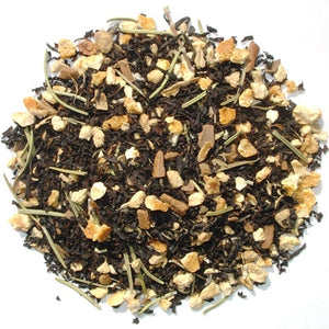 Solstice Spice, English black tea blend with orange peel and spices