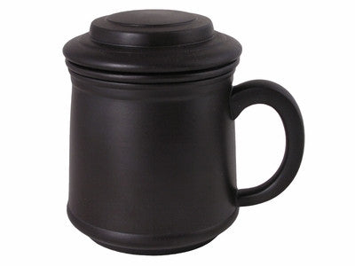 Tea Mug with Lid - Yi Xing - 10 oz