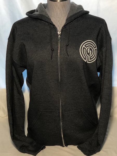 Adult Full Zipper Hooded Sweatshirt