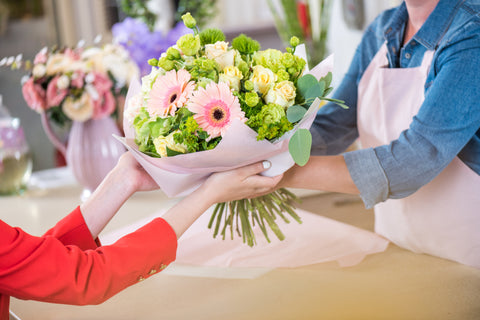 flower delivery in christchurch by a florist
