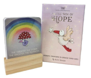 A Little Box Of Hope Affirmation Cards.