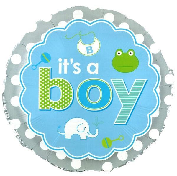Froggy Baby Boy Balloon