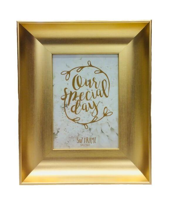 Gold Photo Frame.