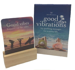 Good Vibrations Affirmation Cards