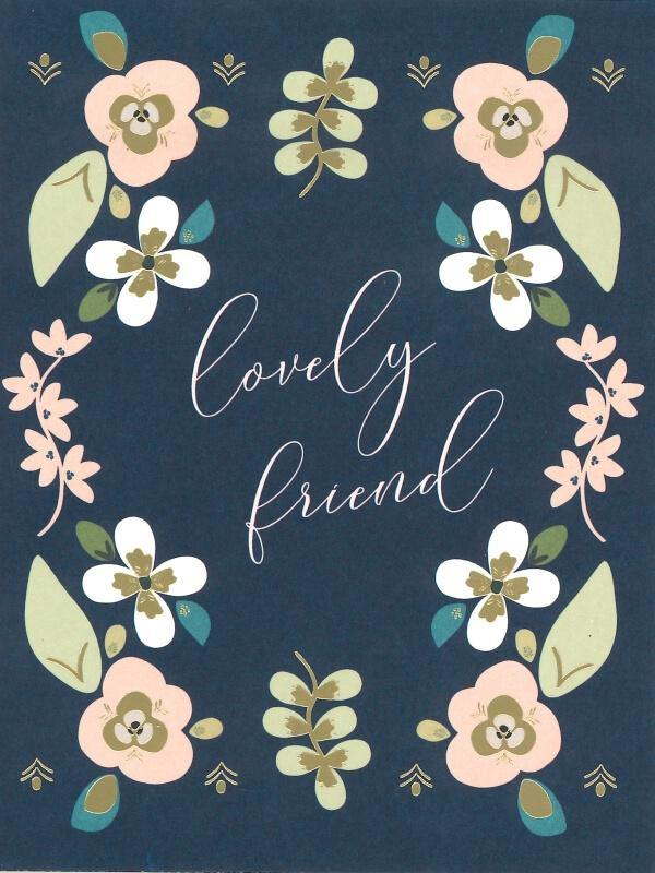 Lovely Friend Card