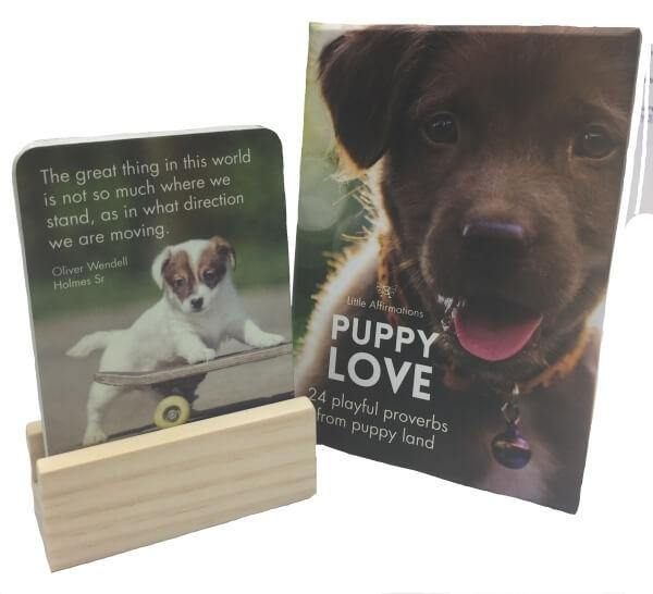 Puppy Love Affirmation Cards