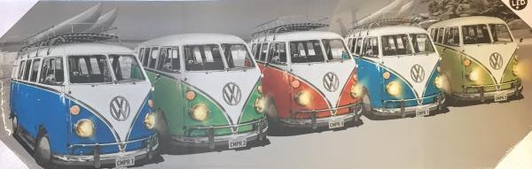 LED VW Line Up Print