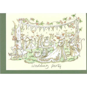 Wedding Party Greeting Card