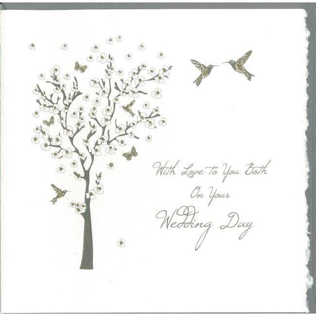 With Love To You Both Wedding Day Greeting Card
