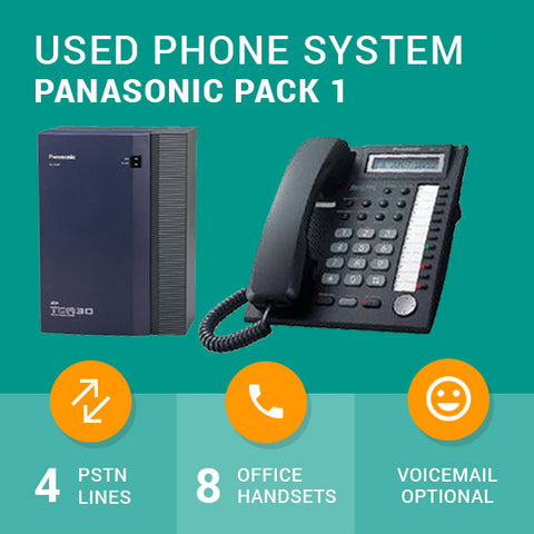 Used Business Phone System - Panasonic Pack